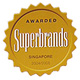 Awarded Superbrands Singapore