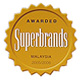 Awarded Superbrands Malaysia