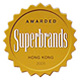 Awarded Superbrands Hong Kong